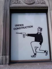 J. Crew Construction Sign #3