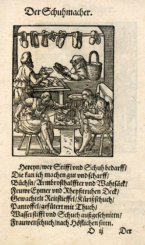 029-El zapatero-Ständebuch 1568-Jost Amman-Hans Sachs