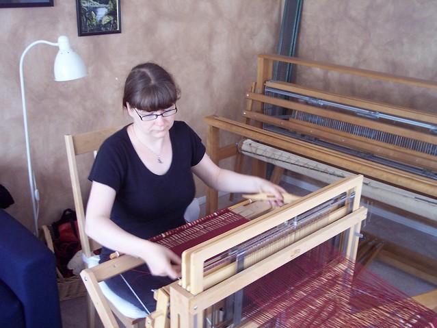 sample weaving