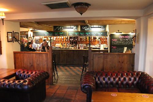 Inside the Leigh Arms
