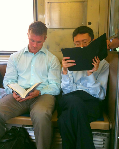 'The Best Way to Read a Book' by pixelevangelist