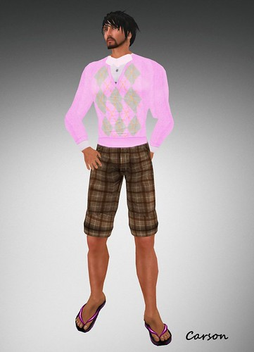 22769 Luxory hunt Golf Jumper and Shorts