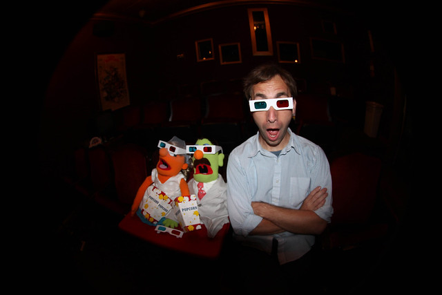 Aaron + Muppets