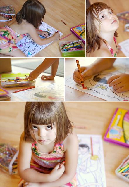 Coloring Storyboard