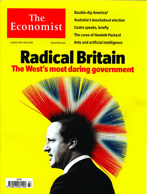 Radical Britain Economist cover