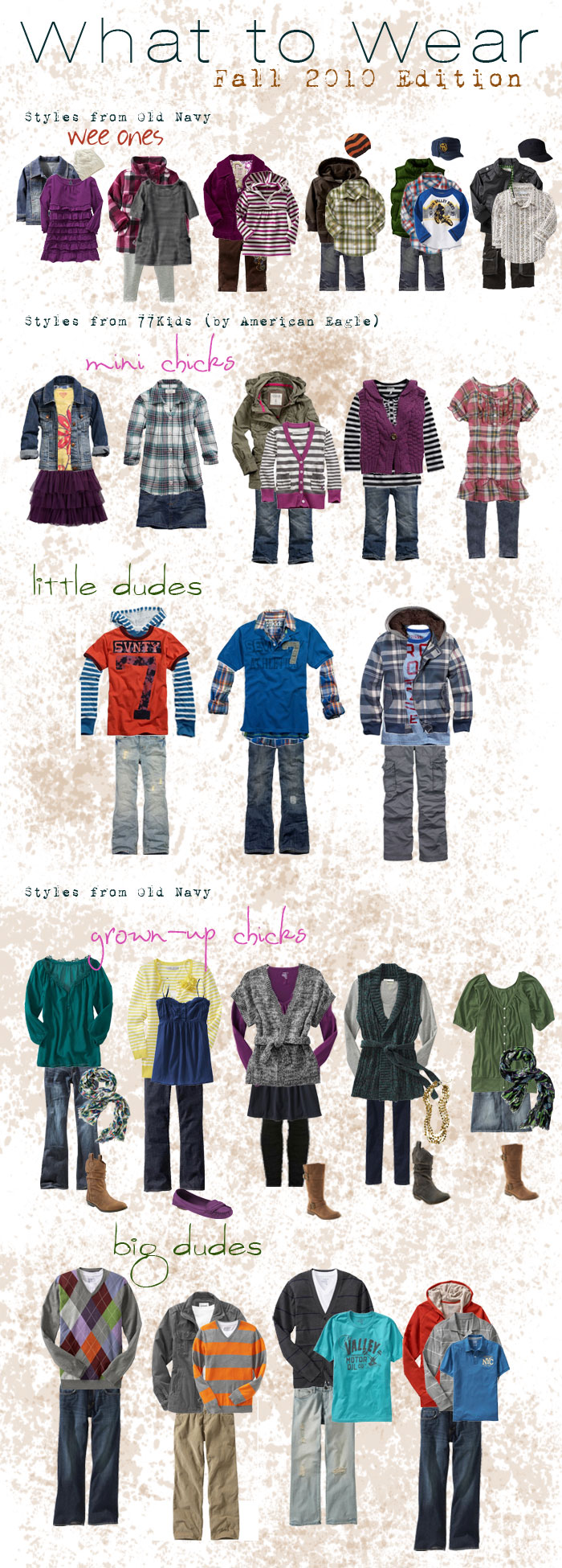 Fall 2010 What to Wear