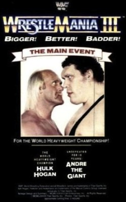 WrestleMania III Hulk Hogan vs Andre the Giant