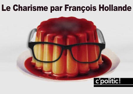 François Hollande, le retour du flan à lunettes