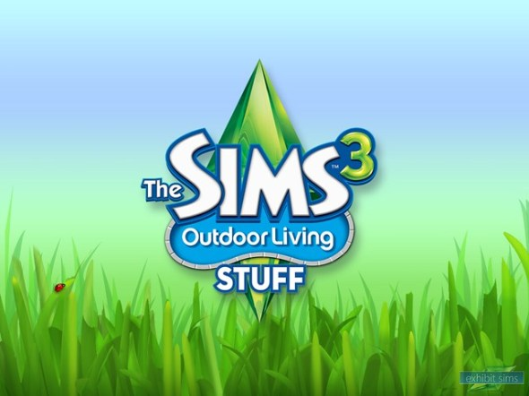 Exhibit Sims The Sims 3 Outdoor Living Stuff Wallpaper