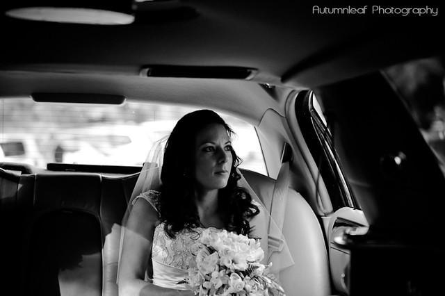 Amanda and Kieran's Wedding - Bride's arrival