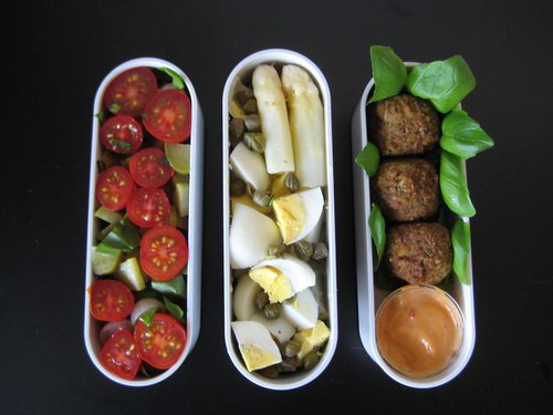 Clearing Out the Fridge Bento #107 (a.k.a. #1)