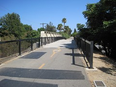 Bridge Over Norwalk Blvd.
