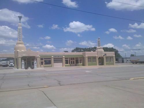 2010-06-16 Conoco Tower Station, Shamrock TX