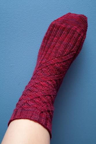 Maelstrom Sock (left)