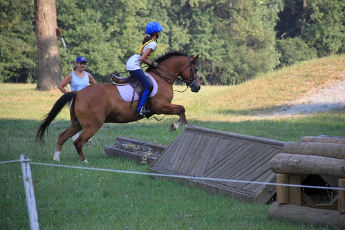 Annie's First Cross Country Jump