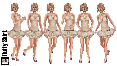 !bang Fluffy Skirt