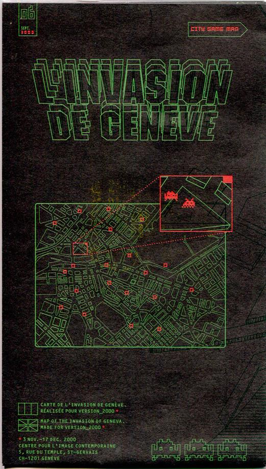 Invader Map front