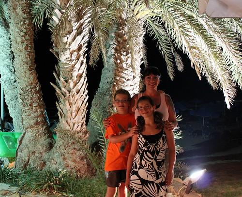 By the Palm tree at Poseidon