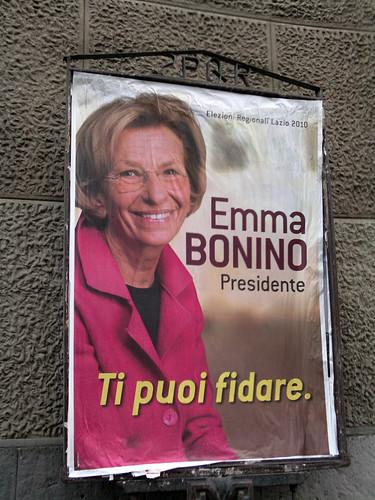Emma Bonino presidente