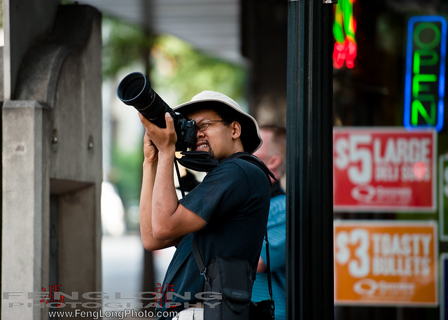 Photographer shooting at the Atlanta Worldwide Photowalk