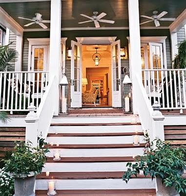Cottage Living NOLA Idea House back porch