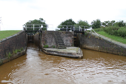 Double Lock on the Trent and Mersey Canal