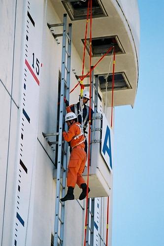 Ladder climbing challenge