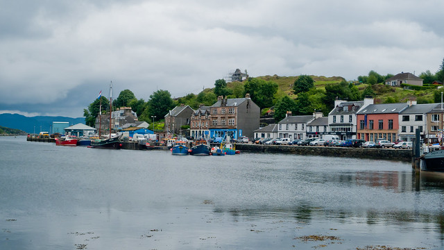 The village of Tarbert