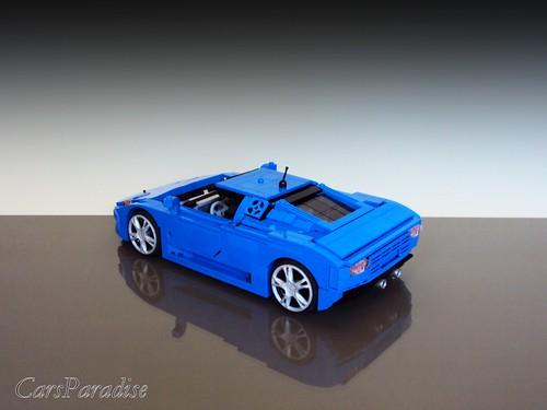 Bugatti EB110 SS - rear_side