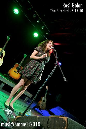 Rosi Golan @ The Firebird - 8.17.10