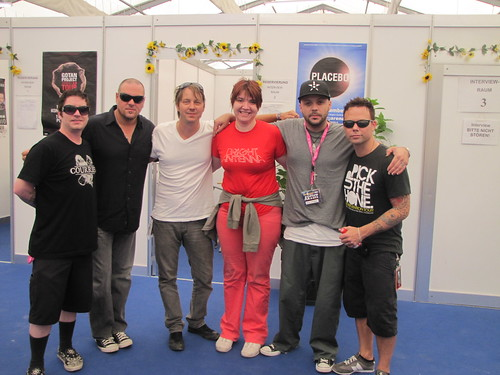 Me and Blue October.