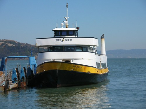 "Blue & Gold fleet: ferry ""Bay Monarch"""