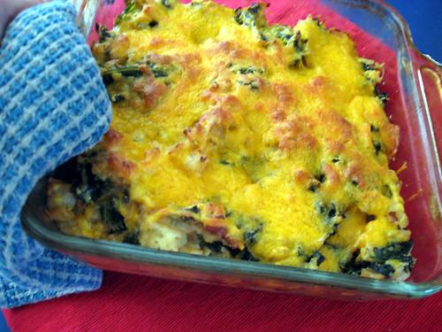 kale day en casserole