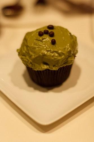 Spot - Chocolate Green Tea Fruit Jam Cupcake