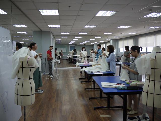 Jojie' draping class