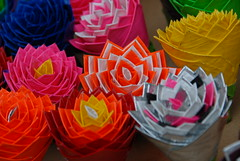 Duct tape roses by my sister in law Anne Marie
