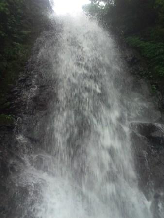 一乗滝を真下から撮影