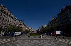 View of Wenceslas Square