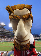 The Washington Nationals Racing Presidents Abe Lincoln