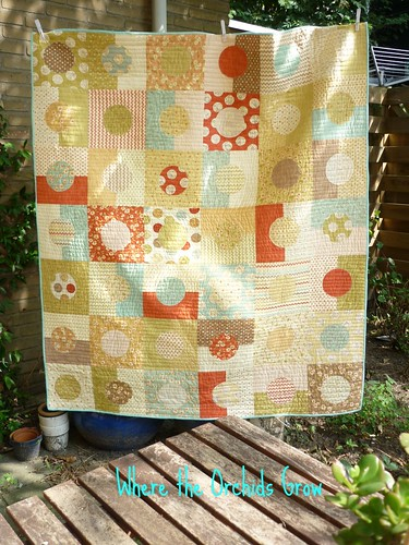 Whimsy circle quilt