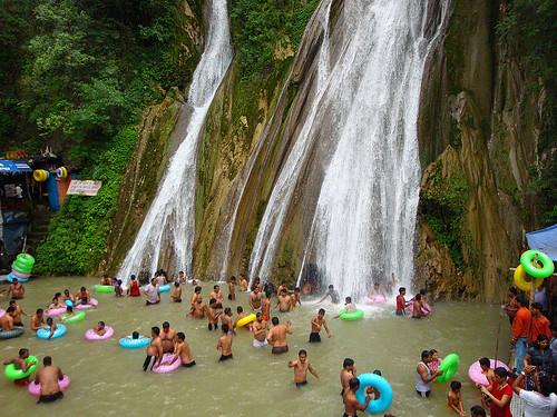 Kempty Falls Mussoorie, Uttaranchal India