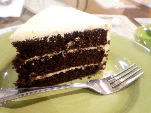 Velvet Cake @ Cafe Mary Grace