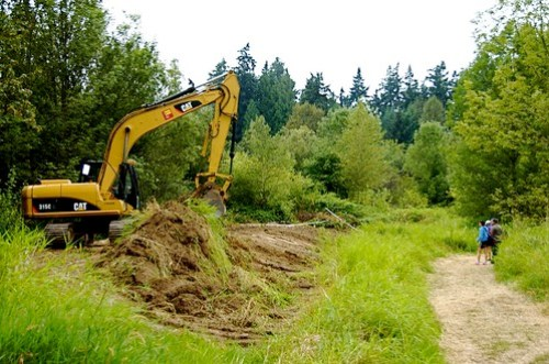 Construction of new boat house for Sammamish Rowing Association