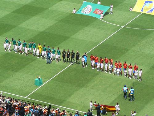 México vs España