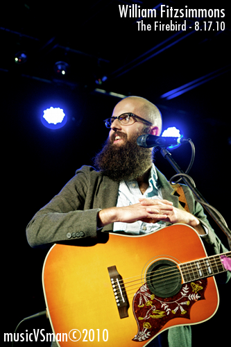 William Fitzsimmons @ The Firebird - 8.17.10