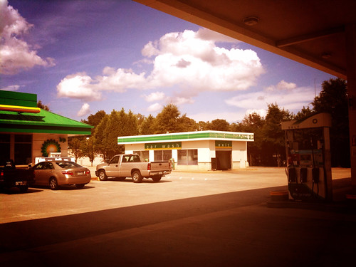 A random picture from a gas station in Snellville