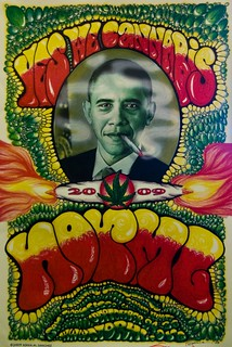 "Haught Street Obama ""Yes We Cannabis""..."