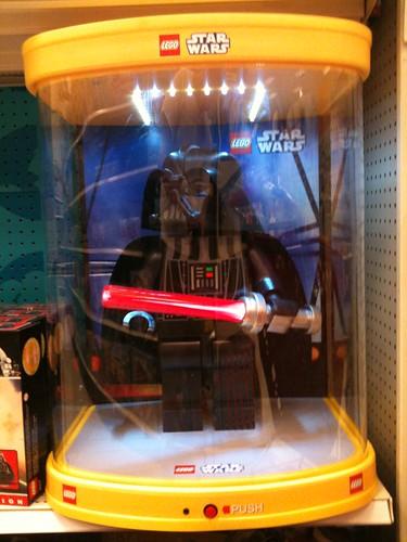 Vader display at Target