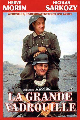 La grande vadrouille Sarkozy Morin