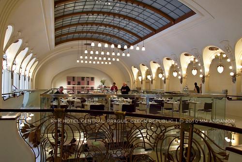 K+K Hotel Central breakfast hall